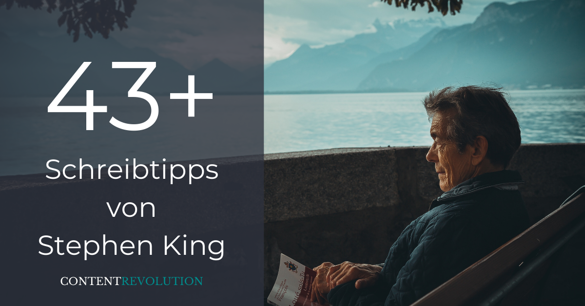 43+ Schreibtipps von Stephen King, die dich und deine Texte unsterblich machen