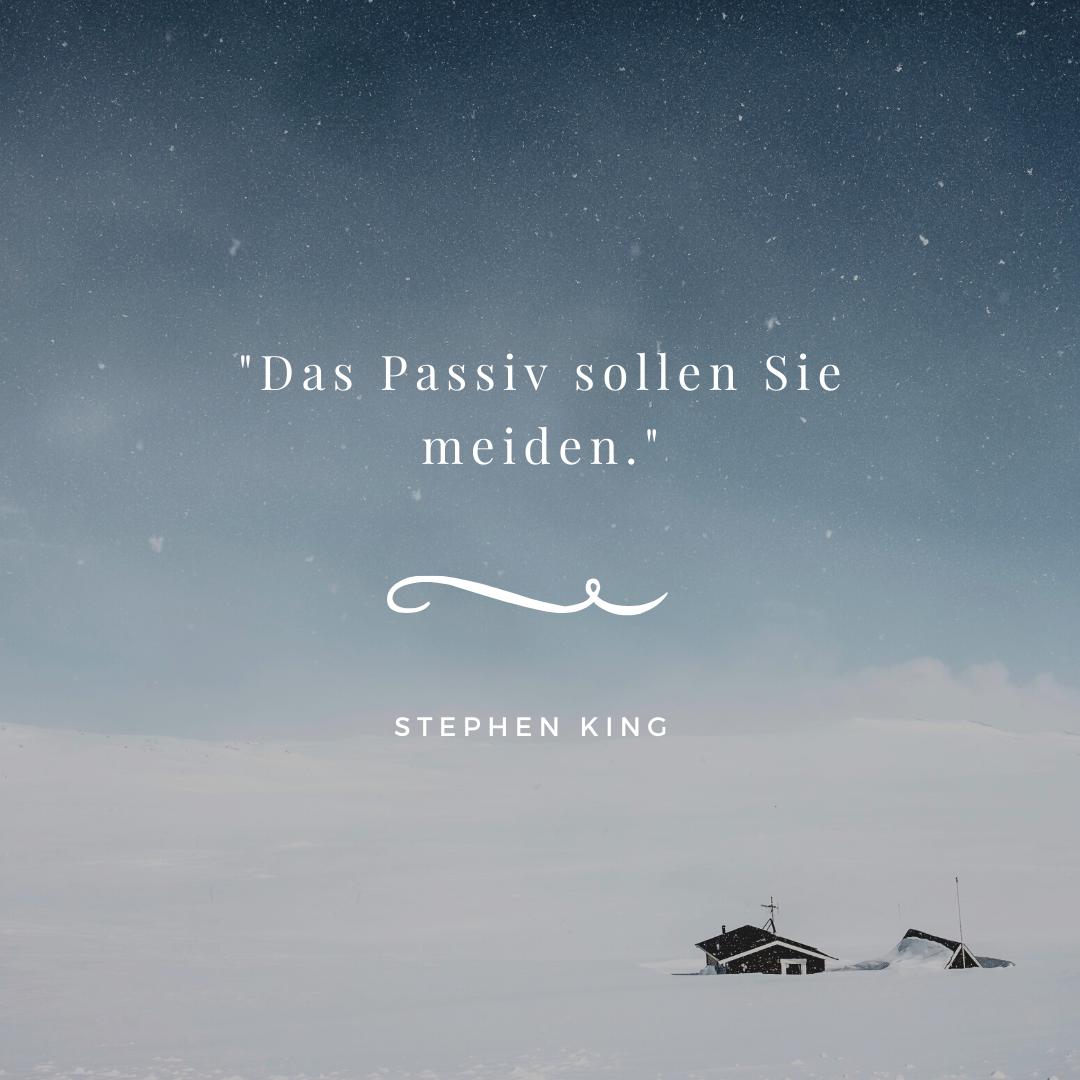 Stephen King Zitate