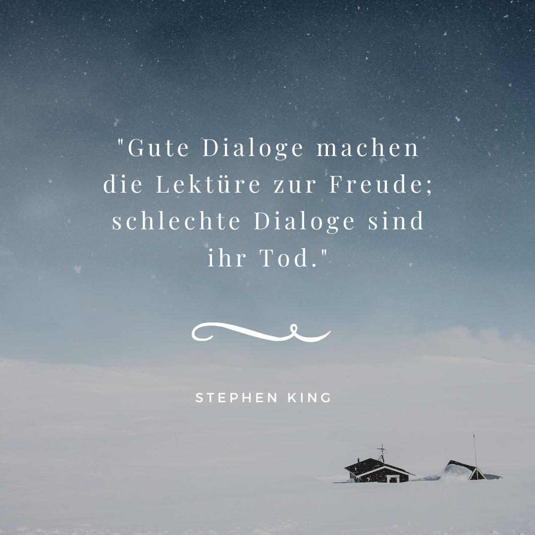 Zitate und Schreibtipps von Stephen King