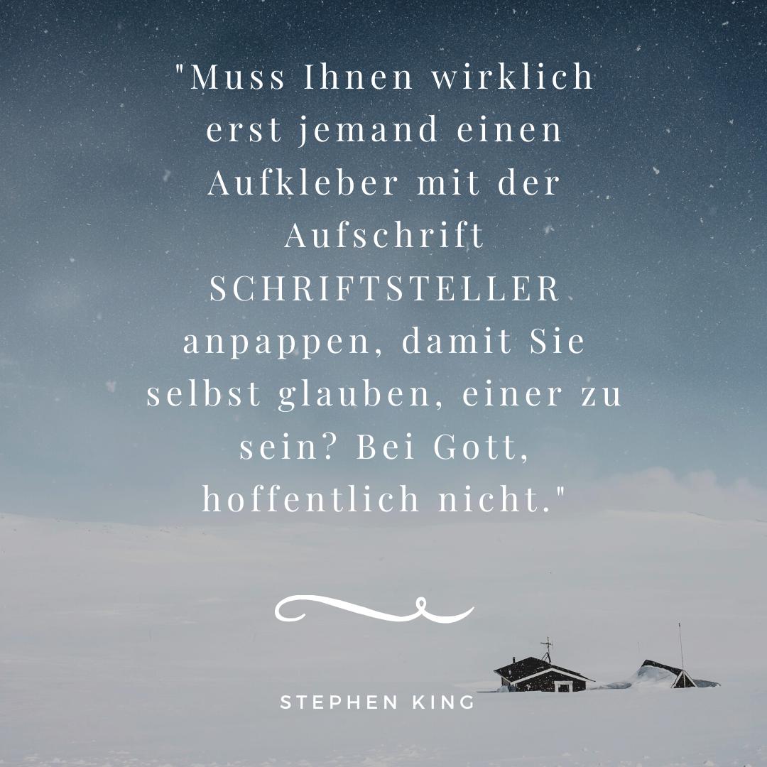 Stephen Kings Schreibtipps